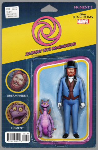 Figment 2 #1 (Action Figure Cover)