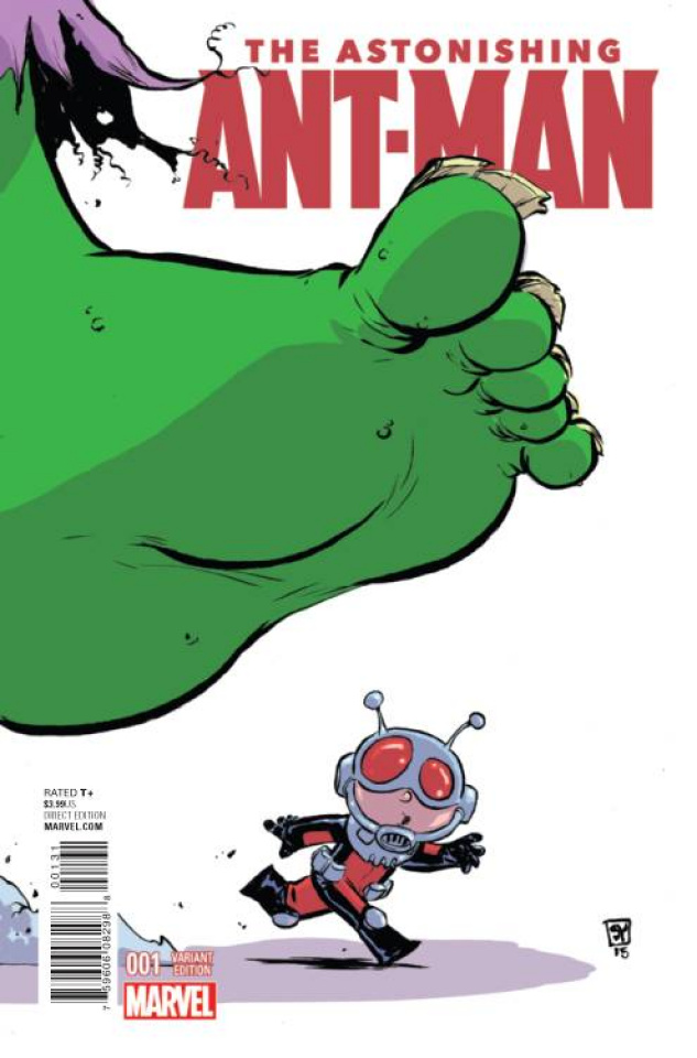 Astonishing Ant-Man #1 (Young Cover)