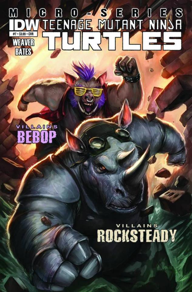 Teenage Mutant Ninja Turtles: Villain Micro-Series #7: Bebop & Rocksteady