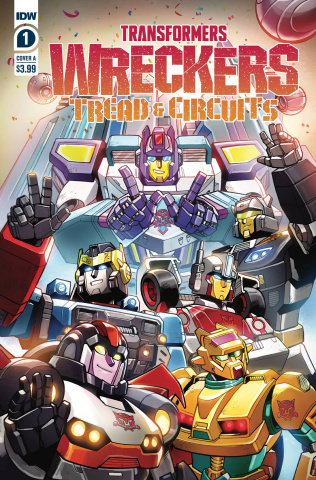 Transformers: Wreckers - Tread & Circuits #1 (Lawrence Cover)
