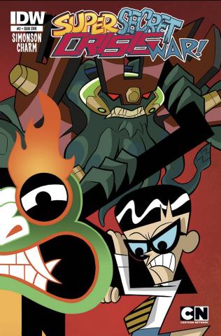 Cartoon Network: Super Secret Crisis War! #2 (Subscription Cover)