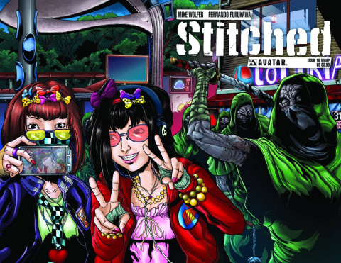 Stitched #16 (Wrap Cover)