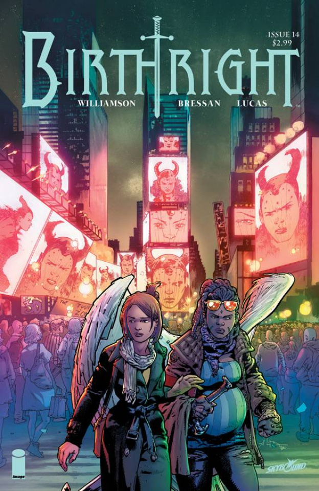 Birthright #14 (Bressan & Lucas Cover)