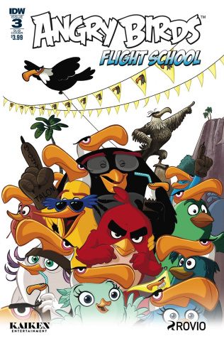 Angry Birds: Flight School #3 (Subscription Cover)