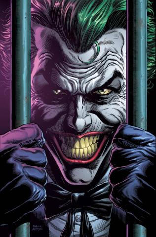 Batman: Three Jokers #2 (Premium Behind Bars Cover)