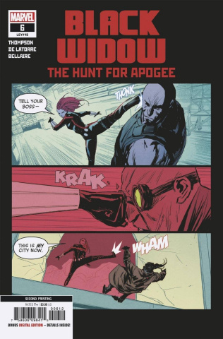Black Widow #6 (De Latorre 2nd Printing)