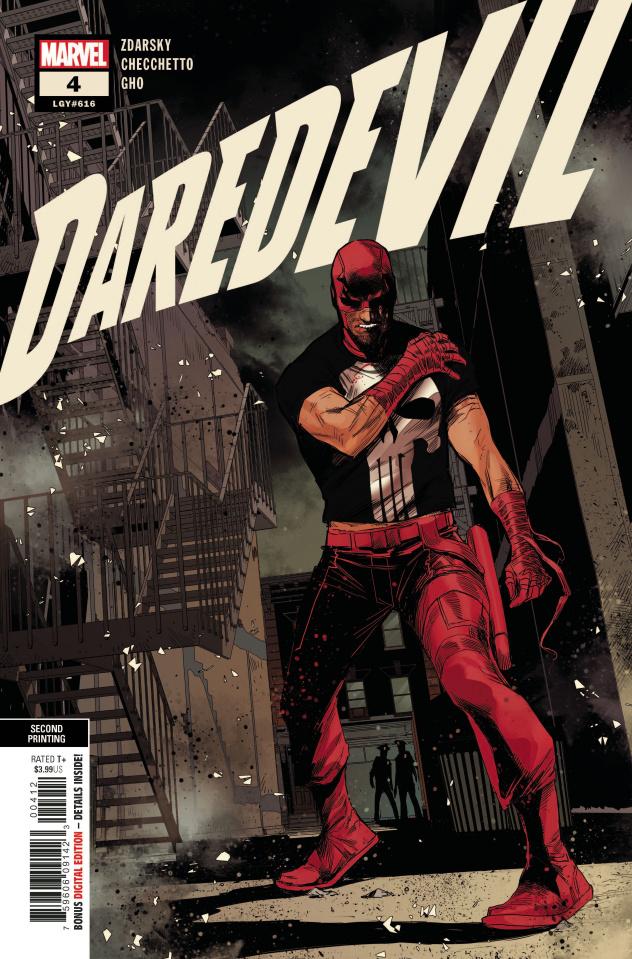 Daredevil #4 (Checchetto 2nd Printing)