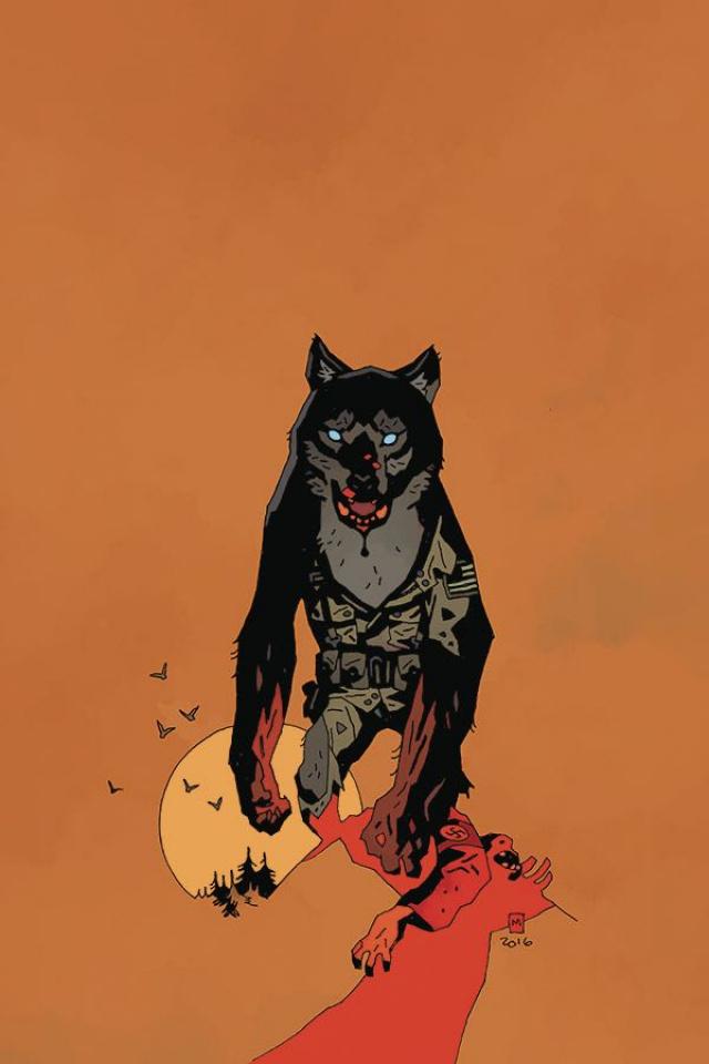 'Namwolf #2 (Special Mignola Cover)