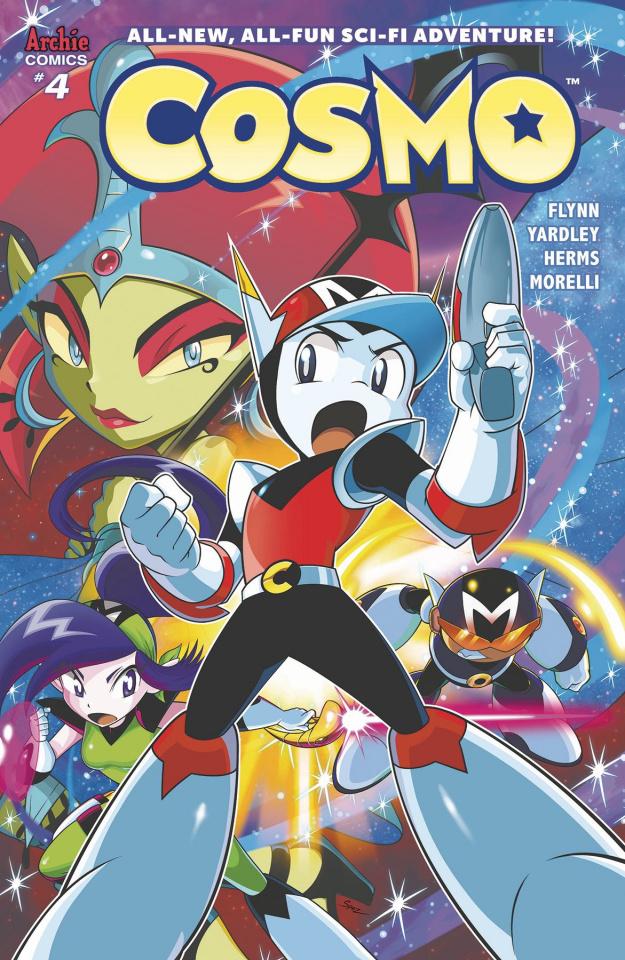 Cosmo #4 (Spaziante Cover)