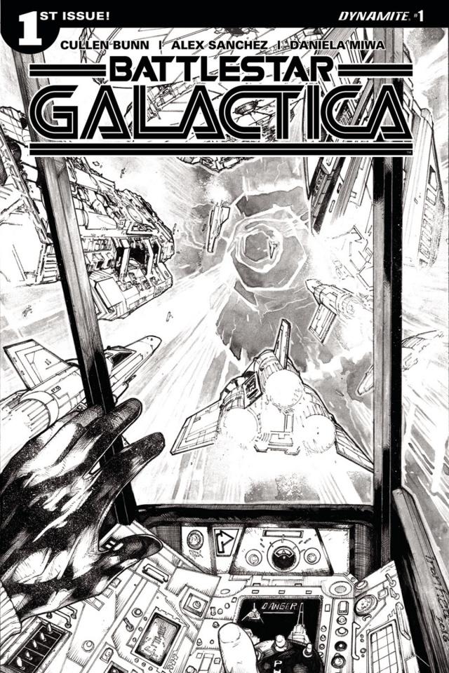 Battlestar Galactica #1 (10 Copy Sanchez Cover)