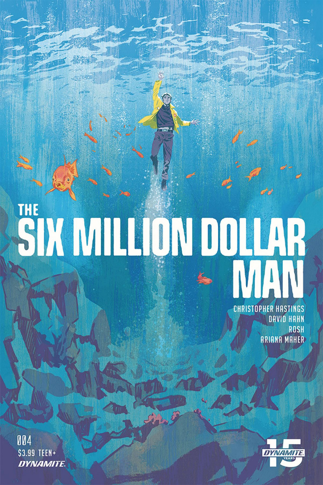 The Six Million Dollar Man #4 (Walsh Cover)