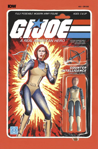 G.I. Joe: A Real American Hero #221 (Subscription Cover)