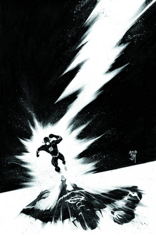 The Flash #22 (Black & White Cover)