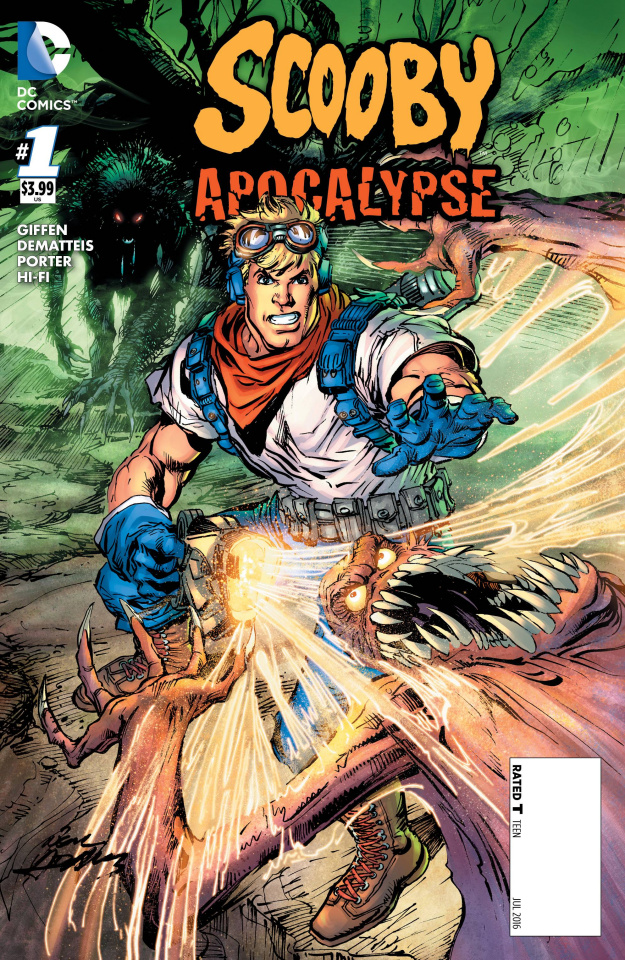 Scooby: Apocalypse #1 (Fred Cover)
