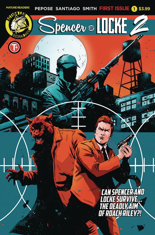 Spencer & Locke 2 #1 (House Cover)