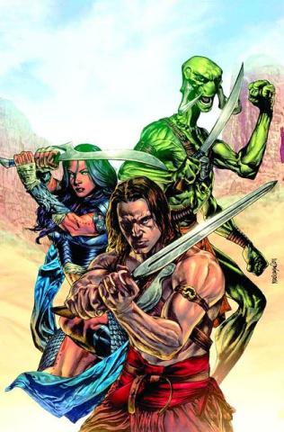 John Carter of Mars: The World of Mars #4