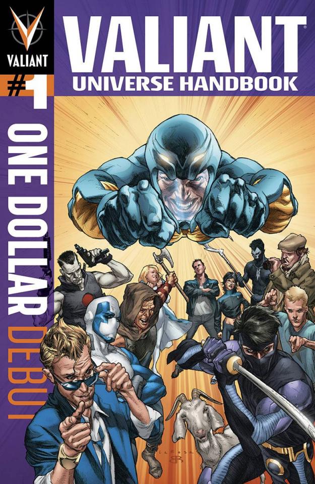 Valiant Universe Handbook 2014 (One Dollar Debut Edition)