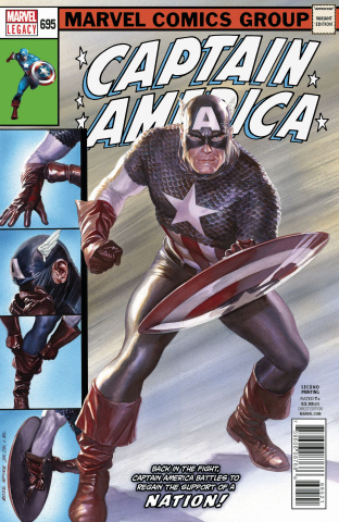 Captain America #695 (2nd Printing)