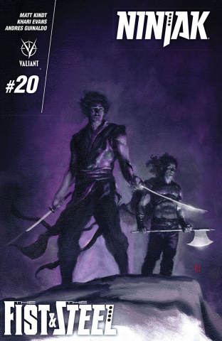 Ninjak #20 (Choi Cover)