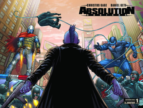 Absolution: Rubicon #1 (Wrap Cover)