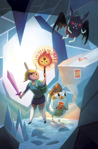 Adventure Time with Fionna & Cake: Card Wars #3 (Chen Cover)