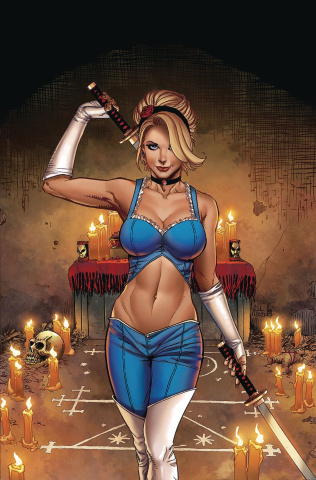 Cinderella: Serial Killer Princess #4 (Spay Cover)