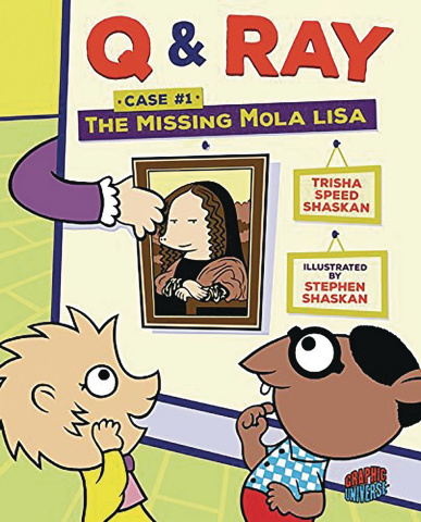 Q & Ray Case #1: The Missing Mola Lisa