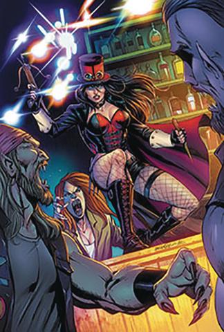 Van Helsing vs. The League of Monsters #2 (Goh Cover)