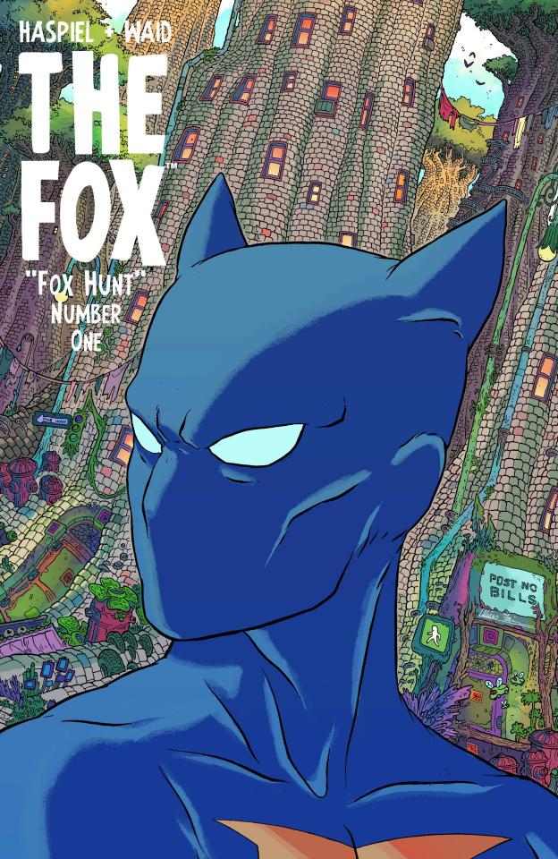 The Fox #1 (Farinas & Hill Cover)