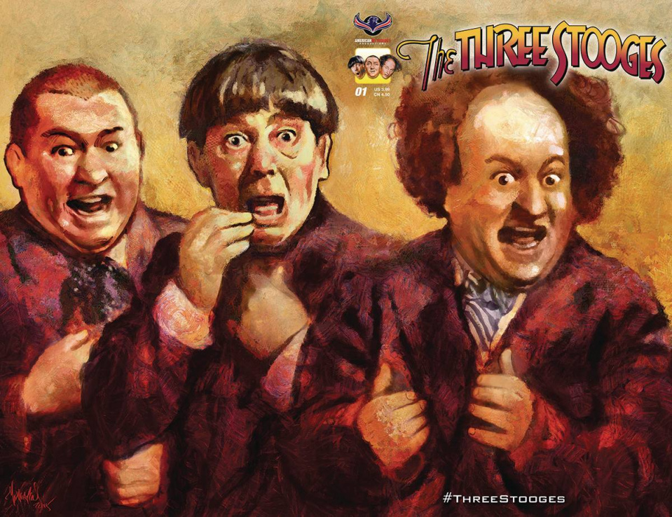 The Three Stooges: Stooge-A-Palooza #1 (Subscription Wrap Cover)