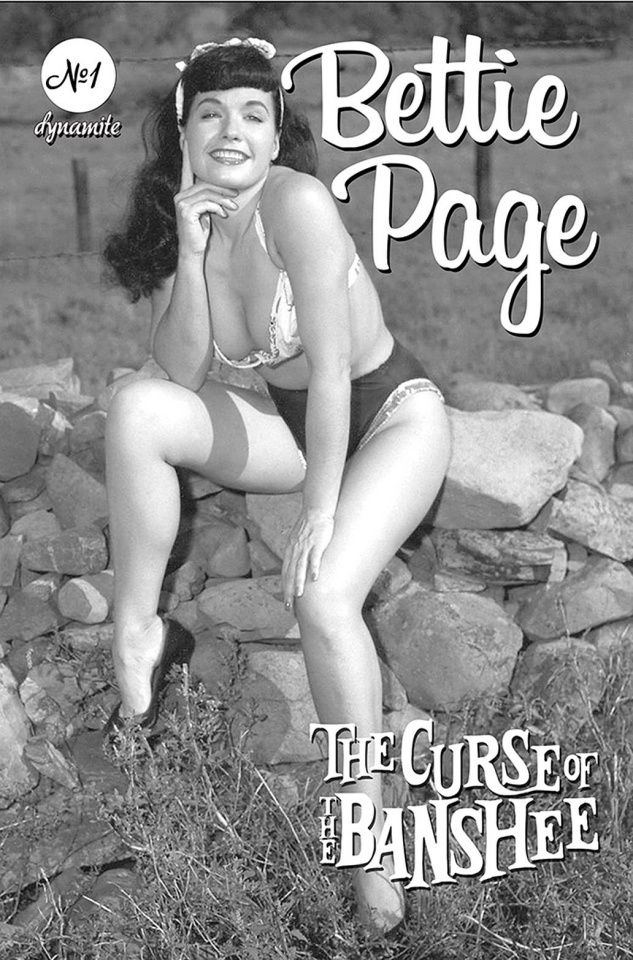 Bettie Page and The Curse of the Banshee #1 (Bettie Page Pin-Up Cover)