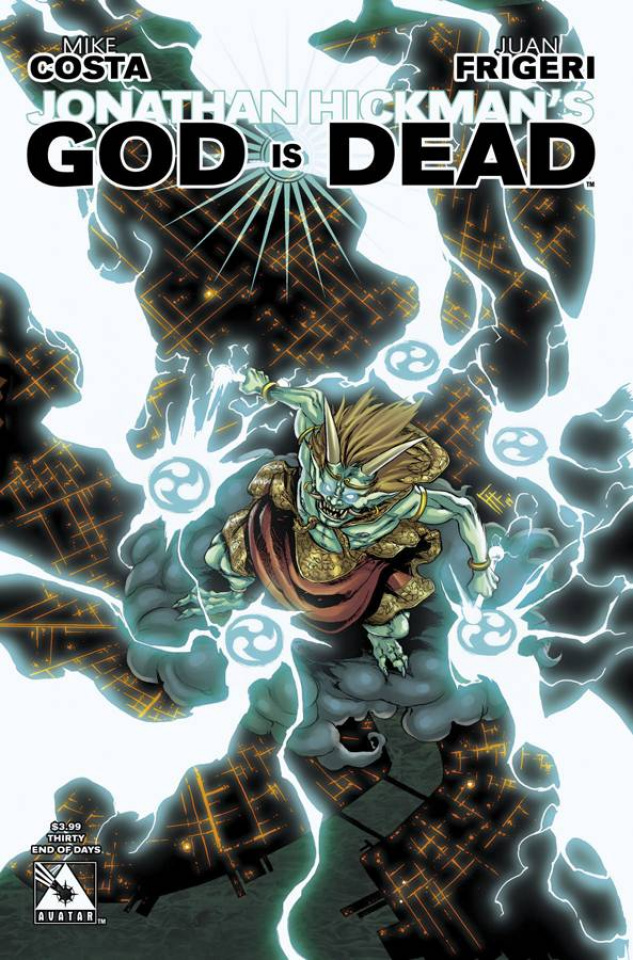 God Is Dead #30 (End of Days Cover)