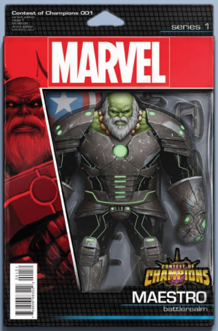 Contest of Champions #1 (Christopher Action Figure Cover)