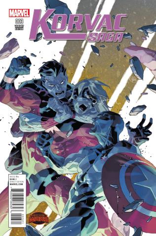 The Korvac Saga #3 (Putri Cover)