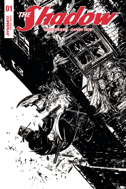 The Shadow #1 (10 Copy Kaluta B&W Cover)