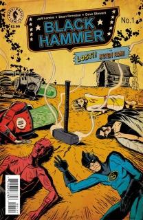 Black Hammer #1 (Lemire Cover)