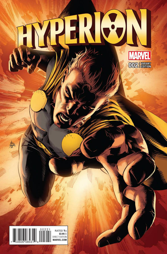 Hyperion #2 (Deodato Cover)