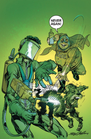 Six Pack & Dog Welder: Hard Travelin' Heroez #1 (Variant Cover)