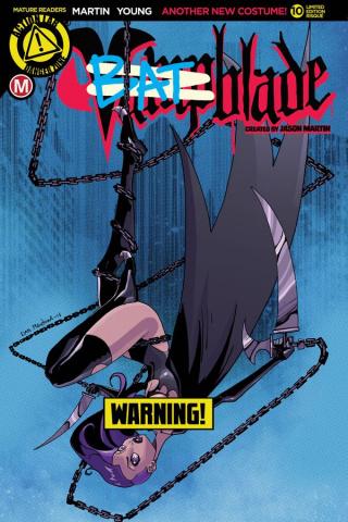 Vampblade #10 (Batblade Risque Cover)