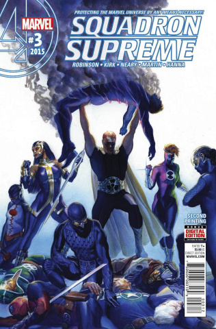 Squadron Supreme #3 (Alex Ross 2nd Printing)