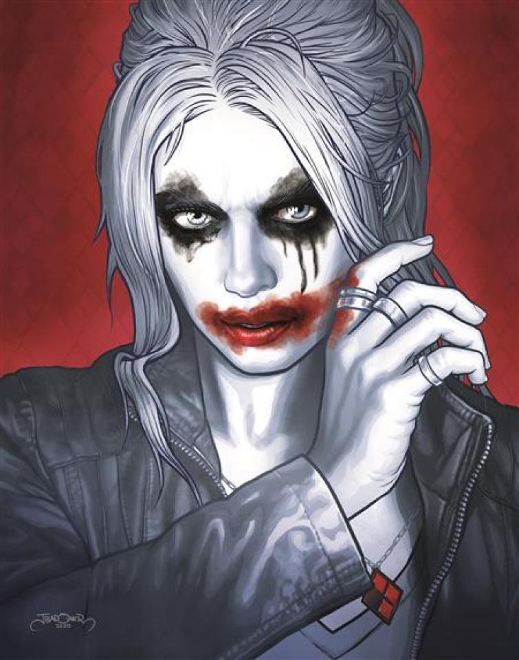 Joker / Harley: Criminal Sanity #8 (Jason Badower Cover)