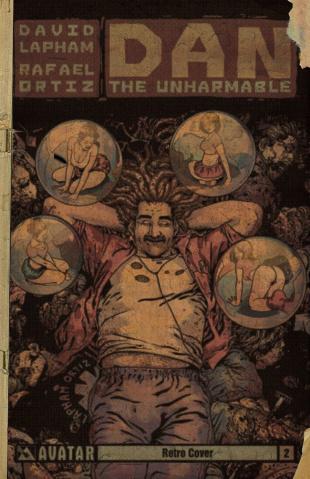 Dan the Unharmable #2 (Retro Cover)