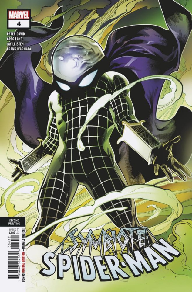 Symbiote Spider-Man #4 (2nd Printing)