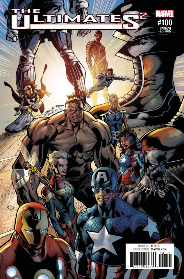The Ultimates 2 #100 (Bagley Cover)