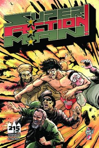 Super Action Man: Loudmouth #1