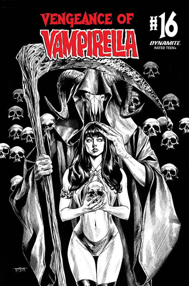 Vengeance of Vampirella #16 (11 Copy Sta Maria B&W Cover)
