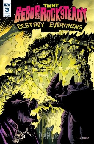 Teenage Mutant Ninja Turtles: Bebop & Rocksteady Destroy Everything #3 (Subscription Cover)