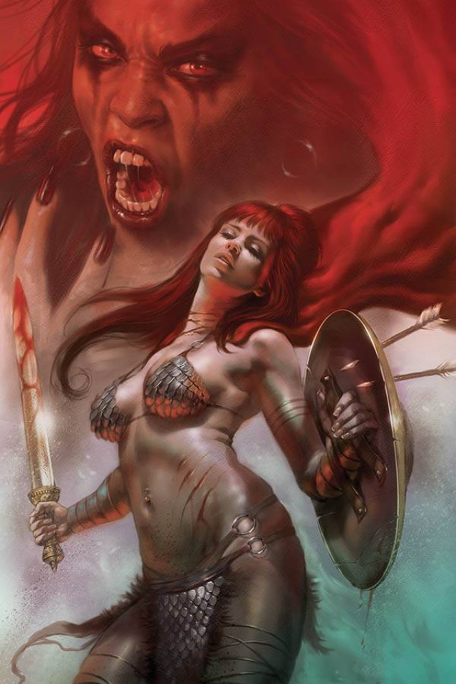Red Sonja: Age of Chaos #5 (Parrillo Virgin Cover)