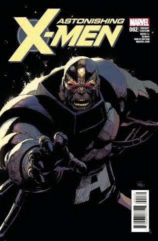 Astonishing X-Men #2 (Yu Villain Cover)