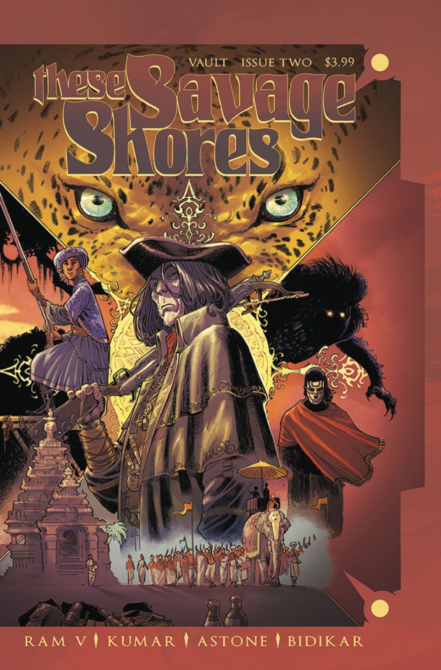 These Savage Shores #2 (2nd Printing)